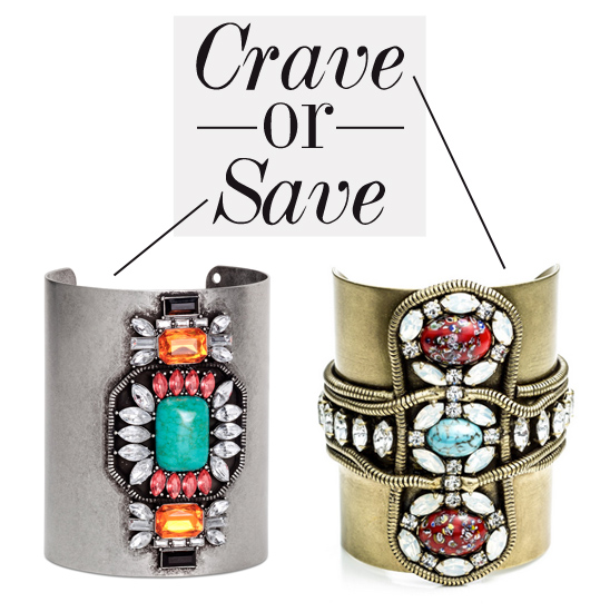 Crave or save cuff